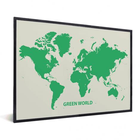 Vert encadrée