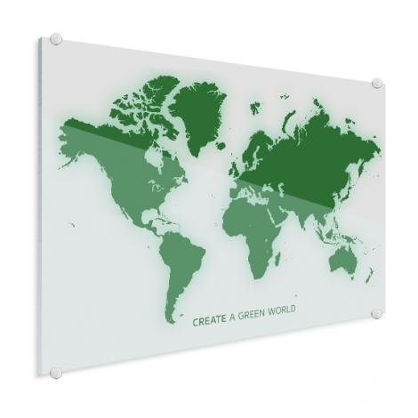 Vert plexiglas