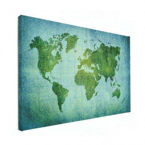 Sur parchemin vert puissant toile