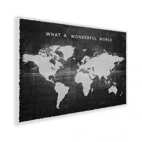 Tissu vintage noir affiche