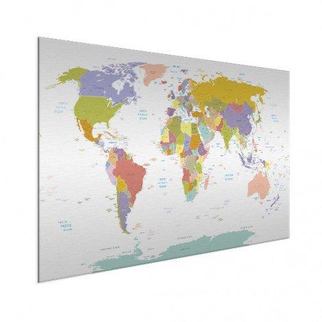 Tous les pays - pastel aluminium