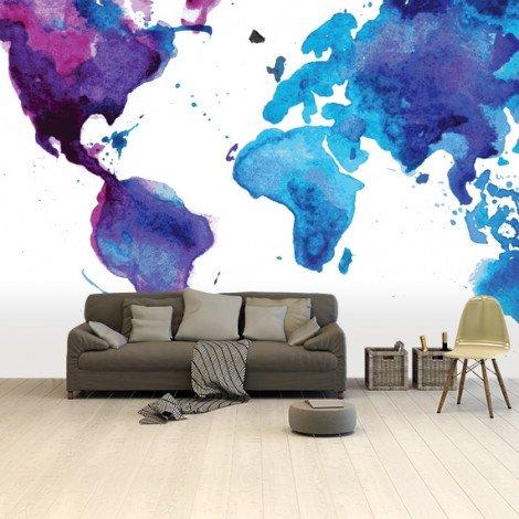 Peinture aquarelle papier peint