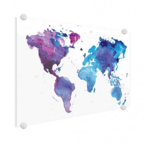 Peinture aquarelle plexiglas