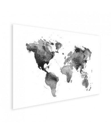 En aquarelle noir et blanc affiche