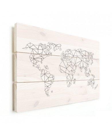 Alignement géométrique bois