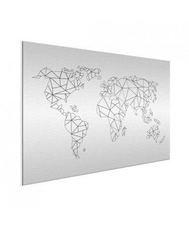 Alignement géométrique aluminium