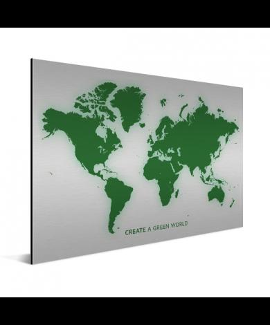 Vert aluminium