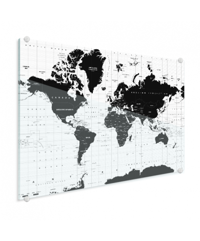 Informative plexiglas