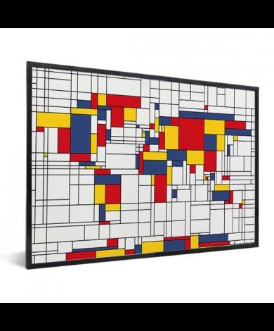 Mondrian original encadrée