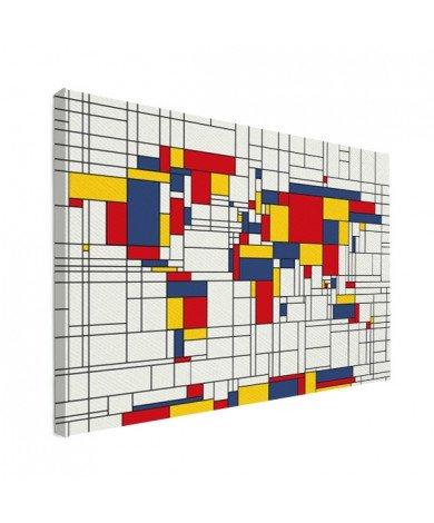 Mondrian original toile
