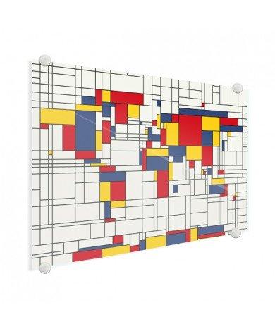 Mondrian original plexiglas