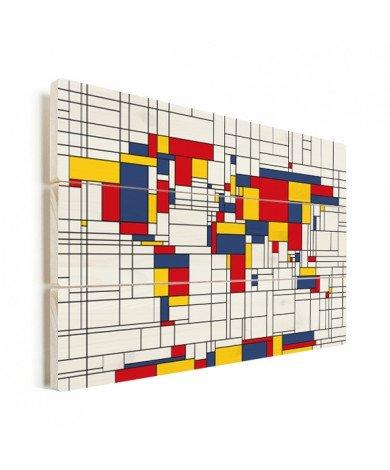 Mondrian original bois