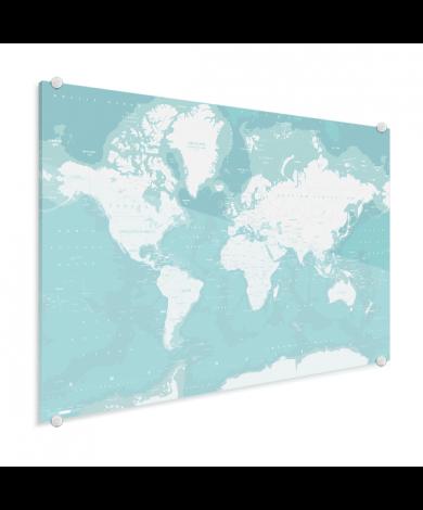 Des océans sur plexiglas
