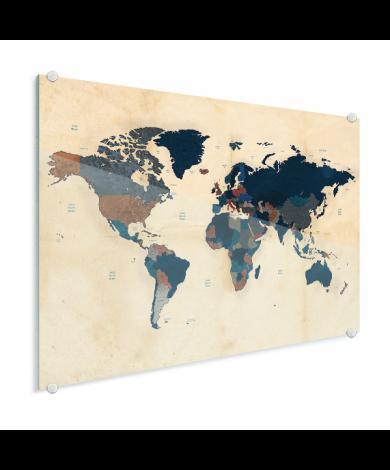 Papier historique plexiglas