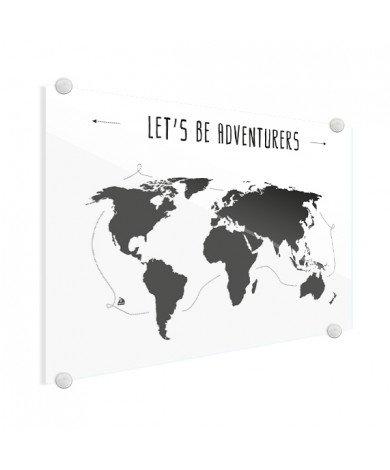Texte aventures plexiglas