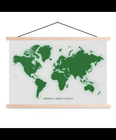 Vert affiche scolaire