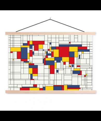 Mondrian original affiche scolaire