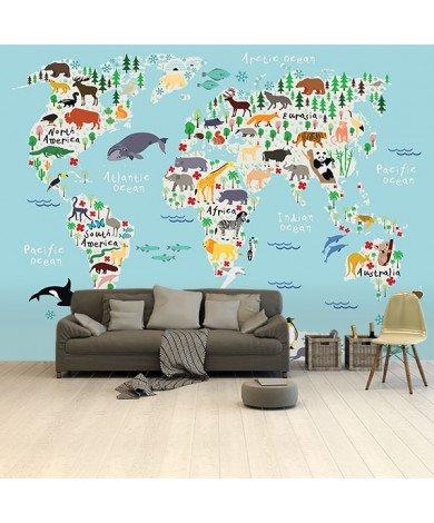 Notre règne animal papier peint