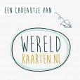 Cadeaubon €50,- Wereldkaarten.nl